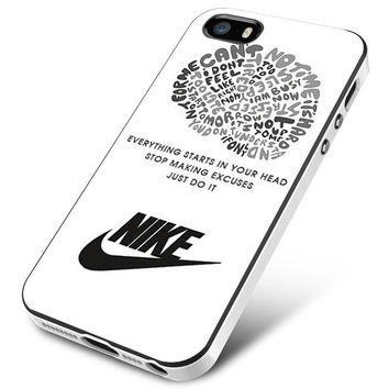 NIKE JUST DO IT QUOTE LOGO iPhone 5 | 5S | 5SE Case Planetscase.com