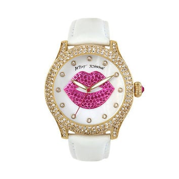 SMOOCHES WATCH: Betsey Johnson