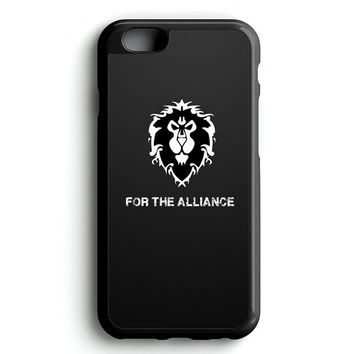 WORLD OF WARCRAFT ALLIANCE WOW iPhone 4s iphone 5s iphone 5c iphone 6 Plus Case | iPod Touch 4 iPod Touch 5 Case