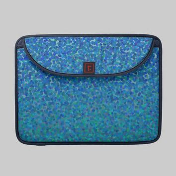 Color Theory : Cool Harmony Laptop Sleeve from Zazzle.com