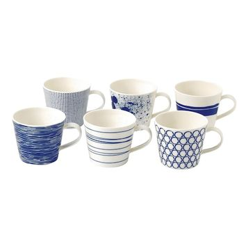 Royal Doulton Pacific 6-pc. Accent Mug Set