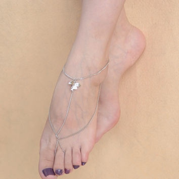 Shiny Gift New Arrival Ladies Cute Stylish Sexy Jewelry Yoga Tassels Anklet [4918826436]
