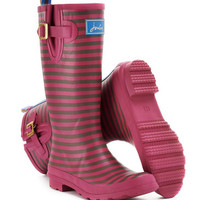 Raspberry Wellyprint Womens Printed Rain Boot | Joules US