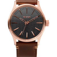 The Sentry 38 Leather | Watches | Nixon Watches and Premium Accessories