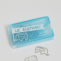 International Arrivals Lil Elephant Paperclips