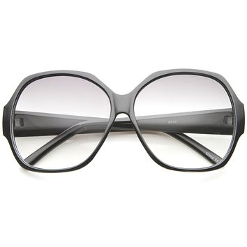 Women's Retro 1950's Oversize Gradient Lens Sunglasses A140