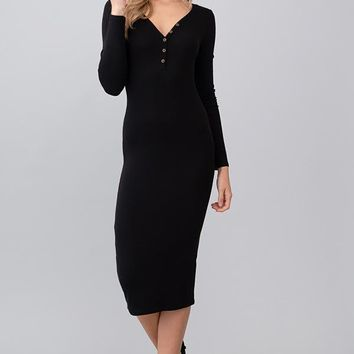 Miracle Mile Midi Dress