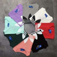 Fashion Online Adidas Originals Trefoil Boyfriend T-shirt - (8 Color)