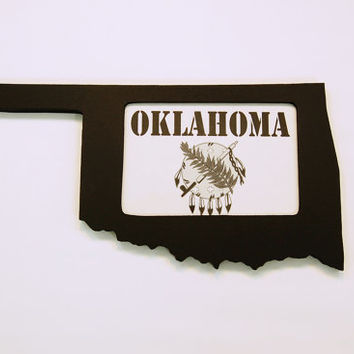 Oklahoma picture frame 4x6