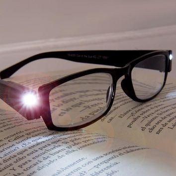Reading Glasses with LEDs