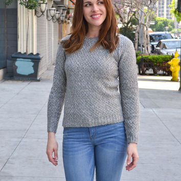 Easy Breezy Cable Knit Sweater