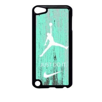 MDIGONB Nike Jordan Mint Wood iPod Touch 5 Case