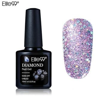 Women UV Diamond Glitter Gel Nail Polish Lacquer