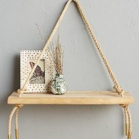 Teak Swing Shelf by Anthropologie in Cedar Size: One Size Office