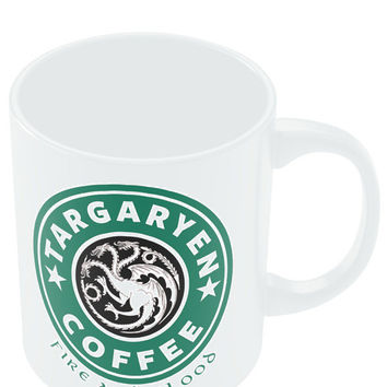 Targaryen Coffee | Fire & Blood | Starbucks Parody Mug
