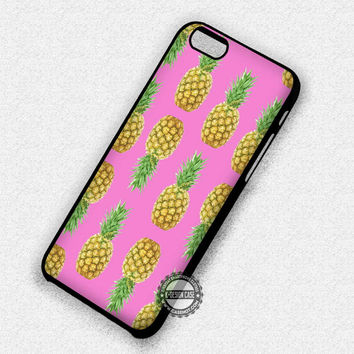 Fashion Trends Pink Pineapple - iPhone 7 6 Plus 5c 5s SE Cases & Covers