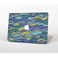The Green and Blue Stain Glass Skin for the Apple MacBook Air 13""