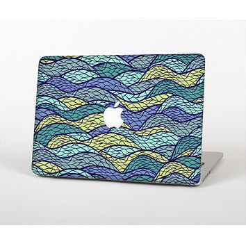 The Green and Blue Stain Glass Skin for the Apple MacBook Pro 13""