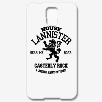 House Lannister Samsung Galaxy S5