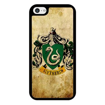 Slytherin Crest Harry Potter iPhone 5/5S/SE Case