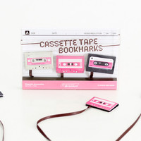 Mini Cassette Bookmark String Set