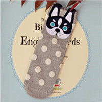 Boston Terrier Socks - cute cartoon sox summer