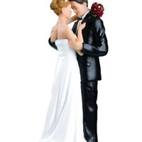 Buy Home 12 Styles Wedding Bride and Groom Cake Romantic Couple Toppers (style 1)