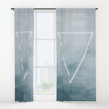 Effervescent in the Pure of Water Window Curtains by Ben Geiger