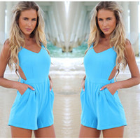 Backless Sexy Romper [4919720004]