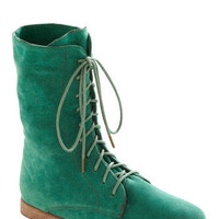 Lady in Rad Boot in Aqua | Mod Retro Vintage Boots | ModCloth.com