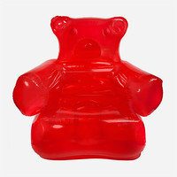 Thumbs Up! Inflatable Gummy Chair Red One Size For Men 27453630001