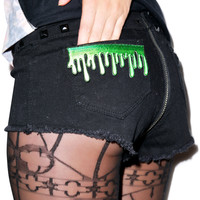 Kreepsville 666 Drippy Slime Patch Green One