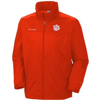 Clemson Tigers Glennaker Lake Full Zip Rain Jacket - Orange