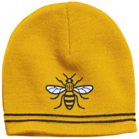 Manchester Bee Colorblock Beanie