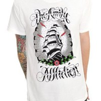 The Amity Affliction Ship Tattoo Slim-Fit T-Shirt Size : Medium