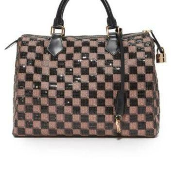 PEAPYD9 Louis Vuitton Damier Paillettes Speedy Bag (Previously Owned)