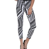 Southwest Printed Legging | Shop Stripes at Wet Seal