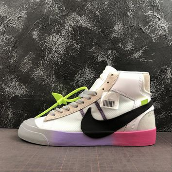 48f189f828 Serena Williams x OFF WHITE x Nike Blazer Studio Mid