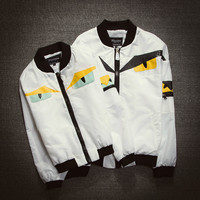 Couple Korean Stylish Slim Men's Fashion Jacket [6541348675]