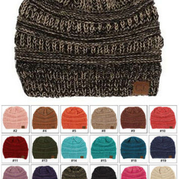 Mix Color CC Beanie