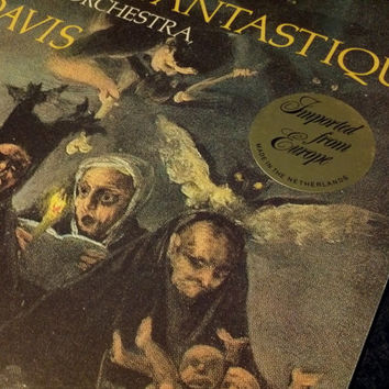 SALE 1978 Berlioz Symphonie Fantastique Vinyl Record Album Witches Sabbath Goya Colin Davis Amsterdam