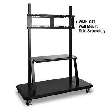 Rolling Trolley Cart Stand Blk