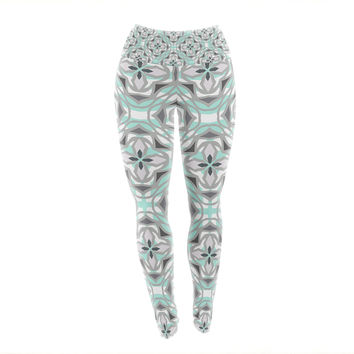 "Miranda Mol ""Winter Pool"" Yoga Leggings"