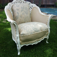 French Louise XVI Bergere Chair