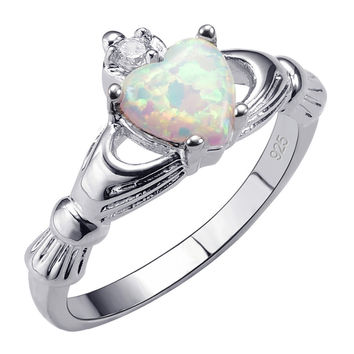 Hot Sale Exquisite White Fire Opal 925 Sterling Silver High Quantity Ring Beautiful Jewelry Size 5 6 7 8 9 10 11 12