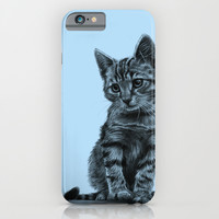 Kitty - PENCIL DRAWING iPhone & iPod Case by Thubakabra