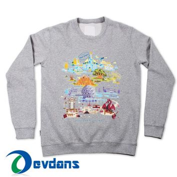 Walt Disney World Sweatshirt Unisex Adult Size S to 3XL