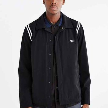 Champion X Wood Wood Coach Jacket- Black