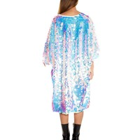 Party Monster Sequin Kimono