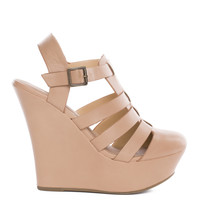 Sophia Wedges - Nude